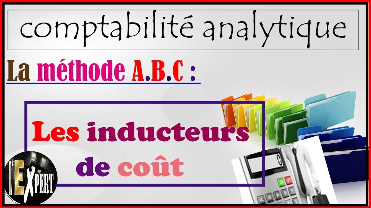 Comptabilite Analytique La Methode A B C Les Inducteurs De Cout
