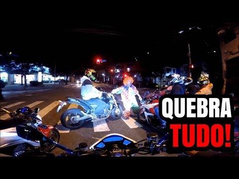 PALHAÇO QUASE EXPLODIU O MOTOR DA HORNET NO CORTE 💥