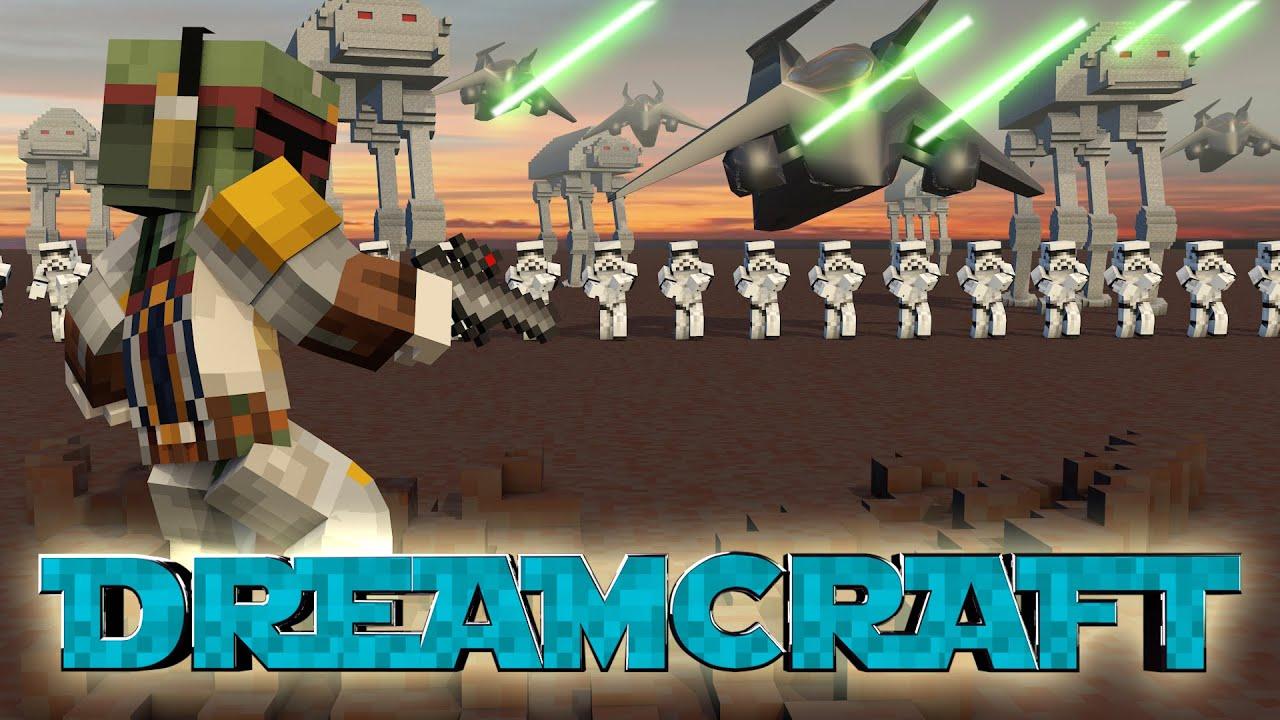 Minecraft Dream Craft Star Wars Modded Survival Ep 89