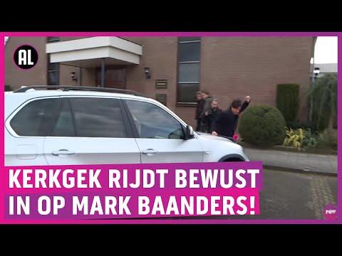 Slijptol aangevallen bij kerk Urk: auto rijdt op hem in!