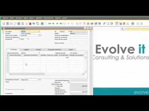 Exportar/Importar datos entre Excel y SAP Business One