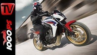 Test-Video | Honda CB650F 2014 | Action, Sound, Fazit