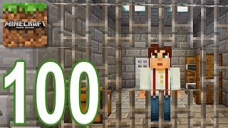 Minecraft: PE - Gameplay Walkthrough Part 100 - Prison For Life (iOS, Android)
