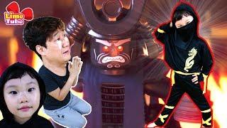 라임이 집에 닌자가 나타났다! 닌자는 누구? 레고 닌자고 무비 영화 장난감 놀이 lego ninjago movie LimeTube & Toy 라임튜브