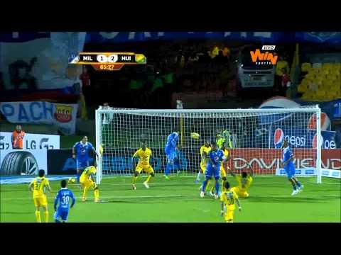 (Resumen) Millonarios 2 - 2 Atlético Huila. Fecha 8 Liga Postobón 2 014-I - Win Sports