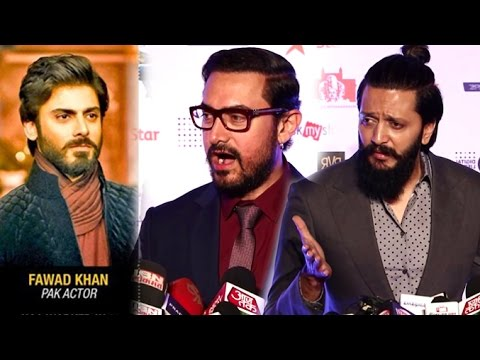 Aamir Khan & Other Bollywood Celebs On Pakistani Actors & Ae Dil Hai Mushkil BAN Controversy