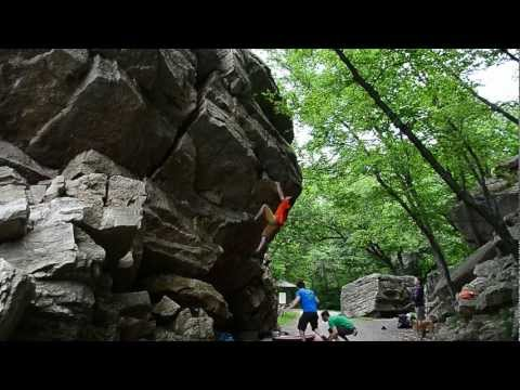 A Little Bit of Gunks Some Bouldering Classics