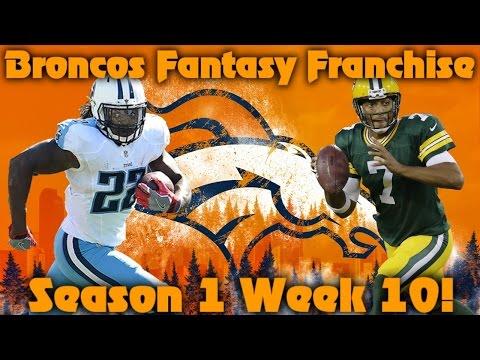 Madden 17 Denver Broncos Fantasy Franchise | Season 1 Week 10 Another Big Injury?!