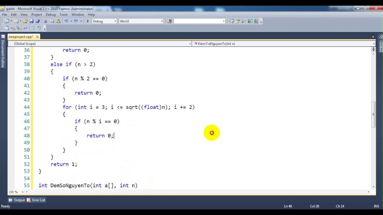 Kĩ thuật lập trình-Bài 223: Đếm số nguyên tố trong mảng
