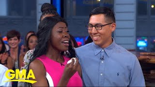 Couple surprised with the wedding of a lifetime on 'GMA'
