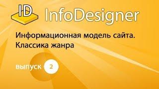 Выпуск №2. Информационная модель сайта. Классика жанра