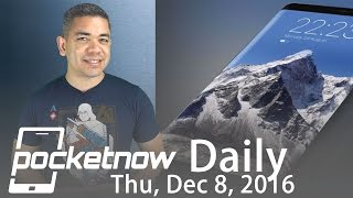 Samsung Galaxy S8 all screen design, all glass LG G6 & more   Pocketnow Daily