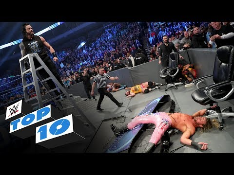 Top 10 Friday Night SmackDown moments: WWE Top 10, Dec. 13, 2019