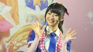 AKB48馬嘉伶返臺代言兒童卡片遊戲,現場甜笑秀舞,粉絲高喊卡哇依!