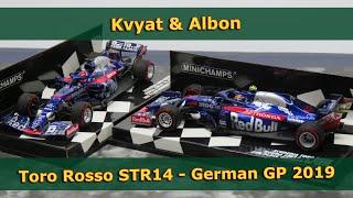 Minichamps 1:43rd Scuderia Toro Rosso STR14 Danil Kvyat 2019