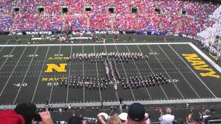 Ohio State Marching Band Navy Halftime Show 8 30 2014 - Fan video
