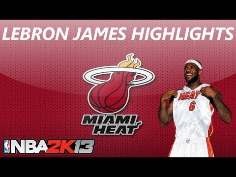NBA 2K13 | Lebron James Highlights
