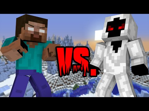 Herobrine VS Entity 303 - Minecraft