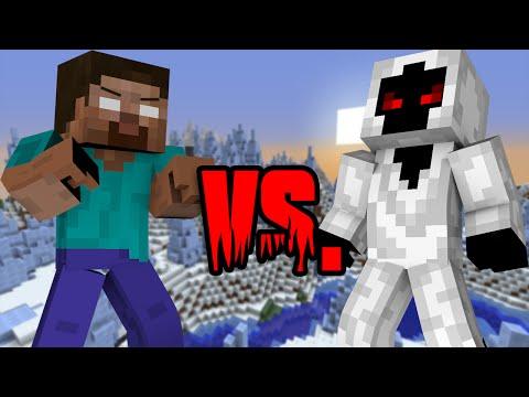 Herobrine VS. Entity 303 - Minecraft