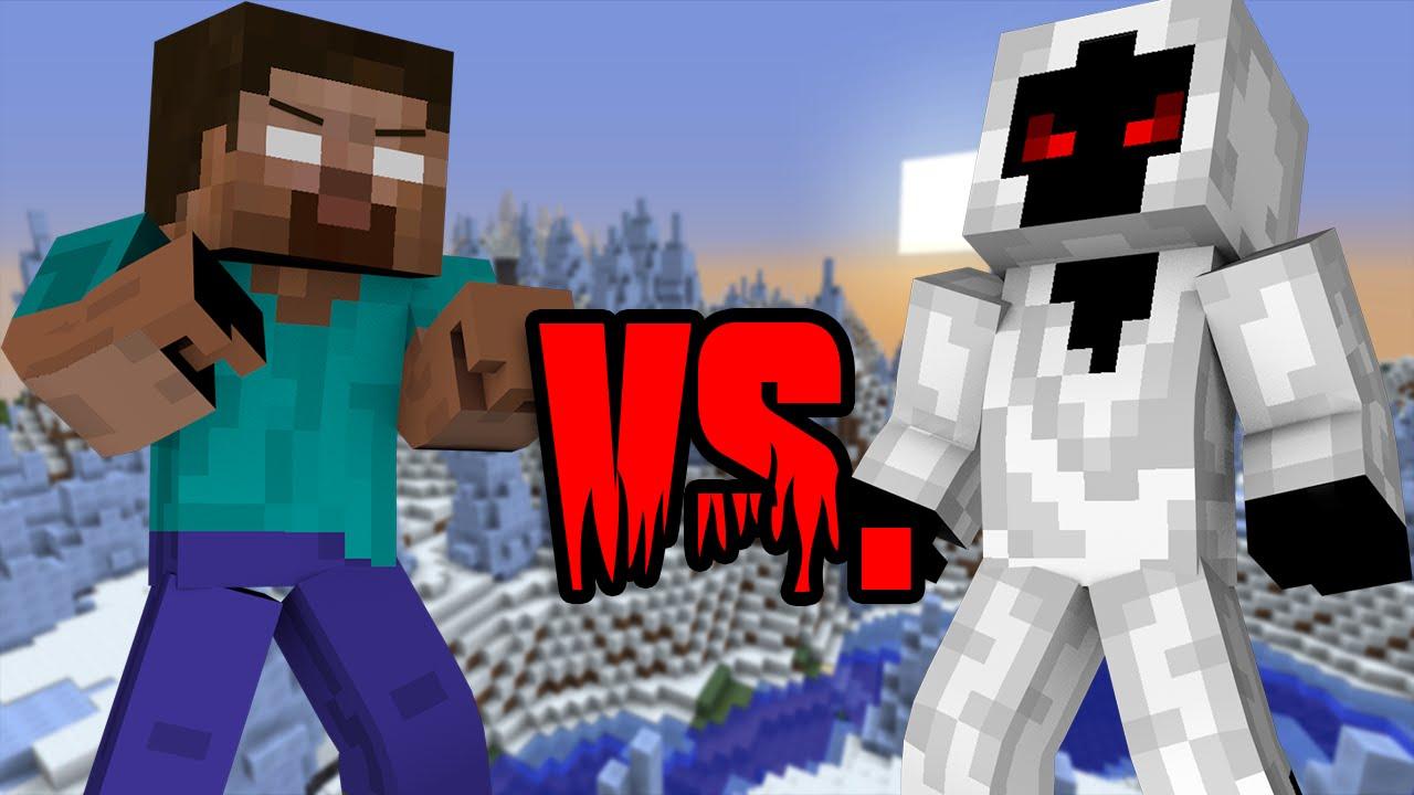 Herobrine VS. Entity 303 - Minecraft - YouTube