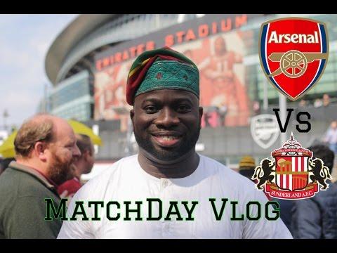 Arsenal Vs Sunderland | Sunderland Were Definitely Not On HOLIDAY | MatchDay Vlog