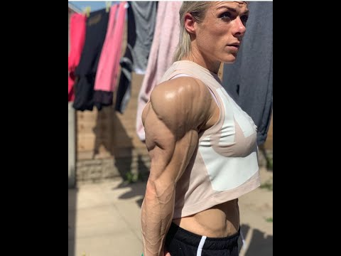 Gemma Lancaster Ripped Female Bodybuilder Muscle