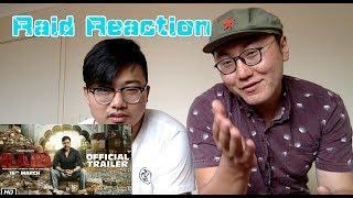 Chinese React to Raid   Official Trailer   Ajay Devgn   Ileana D'Cruz   Raj Kumar Gupta   16th