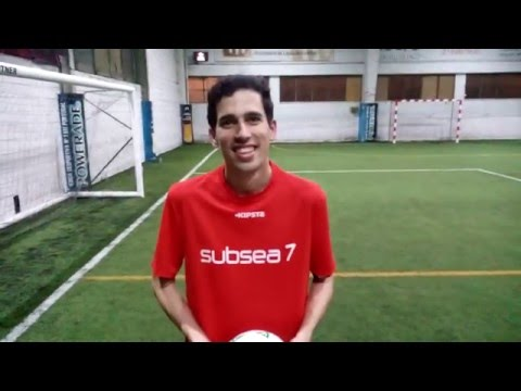 Oil & Gas Soccer League 2016: Subsea 7 (2) vs (1) Galp Energia - Ivo Lourenço (Subsea 7)