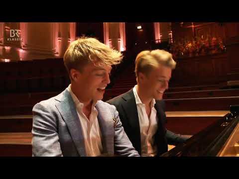 Das Klavierduo Lucas & Arthur Jussen bei KlickKlack