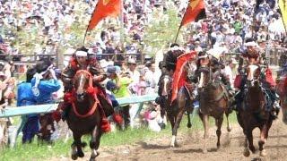 いま甦る壮大な戦国絵巻 -南相馬市 相馬野馬追-
