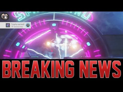 MAIN EASTER EGG ENDING! ZOMBIES IN SPACELAND - UFO DESTROYED!  MORE TO DISCOVER!?