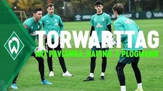 Torwarttraining mit Jiri Pavlenka, Stefanos Kapino & Luca Plogmann | SV Werder Bremen