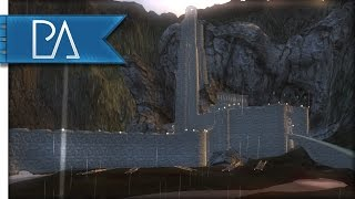 attacking helm s deep fall of mordor mount and blade warband mod gameplay