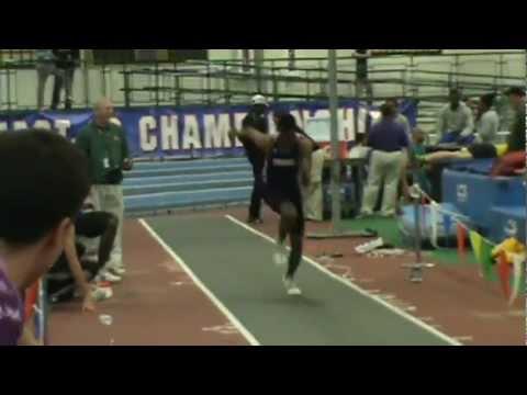 Stonehill College Indoor Track & Field NE-10 Champions 2013