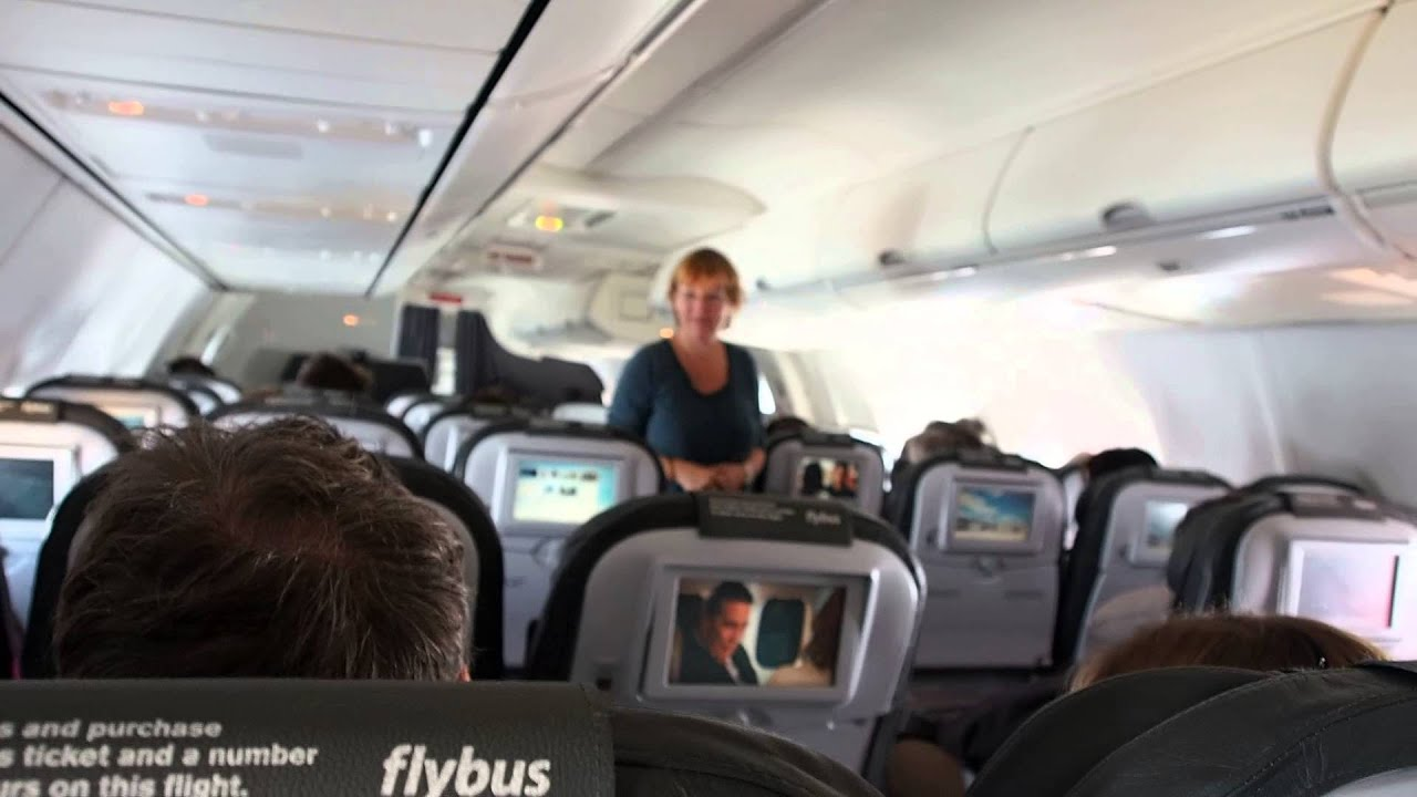 Icelandair Airplane Interior Autumn 2014 Youtube