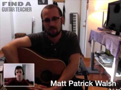 New York Guitar Teacher Matt Walsh Manhattan Guitar Lessons