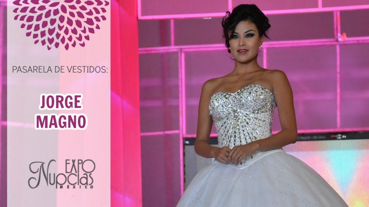 Expo Nupcias Pasarela de vestidos de novia y de noche por Jorge ...