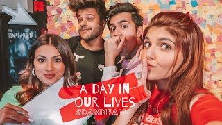 A day in OUR life ft. Damnfam | Ashi Khanna