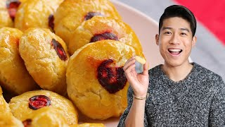 How to Make Chinese Almond Cookies from Frank • Tasty