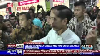 Jokowi Mendadak Kunjungi Mal di Ambon