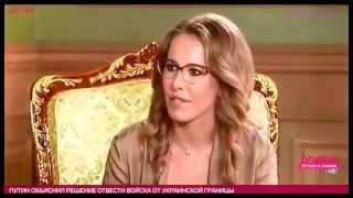Лукашенко рассказал Собчак о своей жене и \