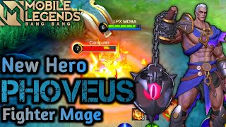 Download Upcoming new hero mobile legends 2021 | Phoveus gameplay | New hero mobile legend 2021