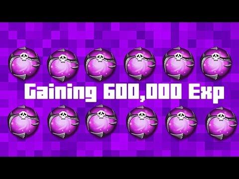 Consuming 600,000 (SKILL EXP!!!)