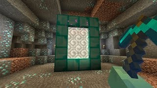 How to Make a DIAMOND PORTAL in Minecraft (Best Way to Find Diamonds)