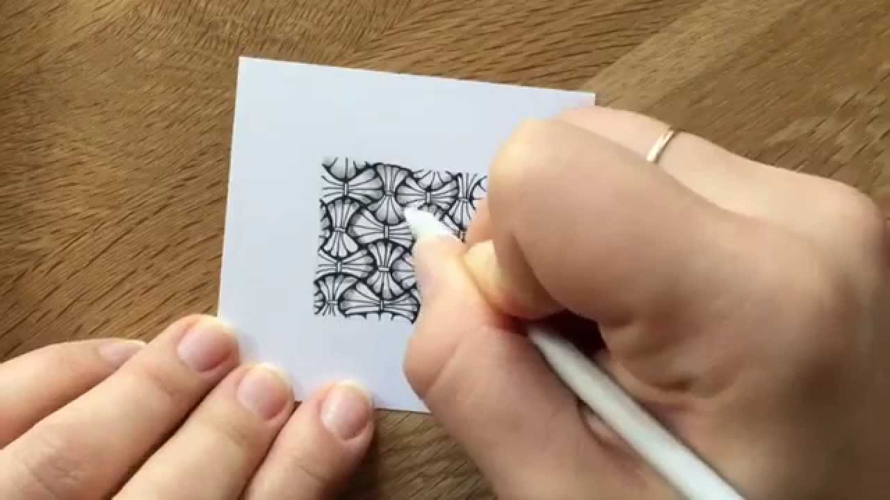 Zentangle Muster Tissoooh Youtube 14