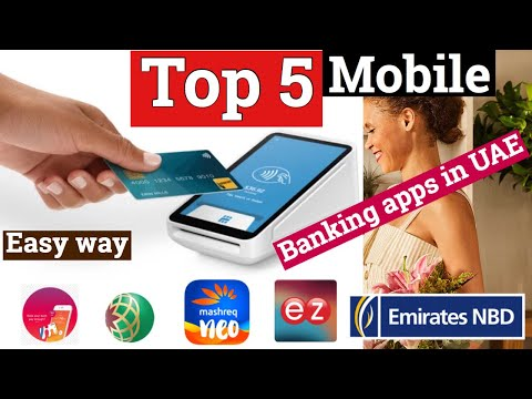 TOP 5 Mobile Banking apps in UAE (English )