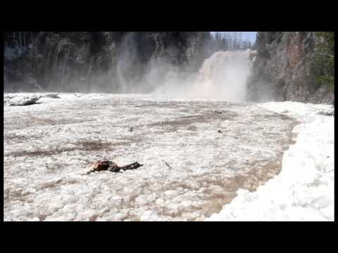 Ice out at High Falls