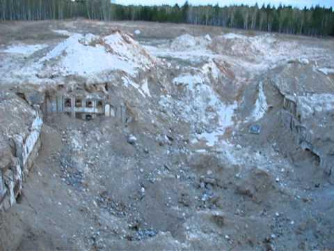 Взорванная ШПУ ЗАТО Локомотивный 2007 год