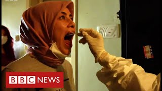 Turkey turning coronavirus tide with huge contact tracing effort - BBC News