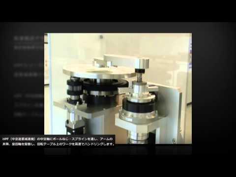 No02_精密制御用中空遊星減速機HPFシリーズ